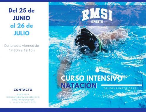 Curso intensivo natación – verano